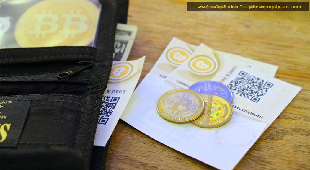plata în bitcoin