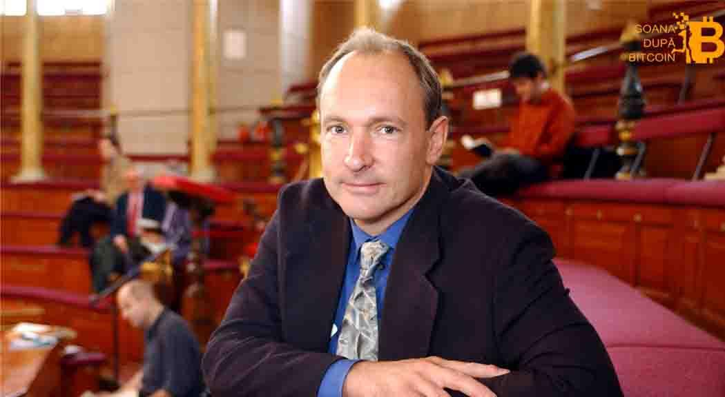 Sir Tim Berners-Lee, inventatorul Internetului