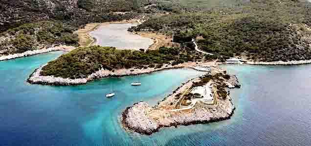 Insula Angistri din Grecia