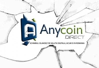 AnyCoinDirect și-a extins serviciile de schimb bitcoin în România