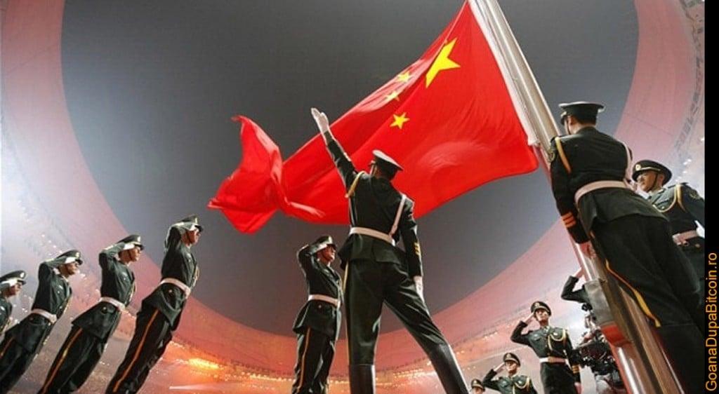 minerii din china