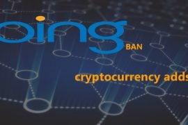 bing interzice reclamele cripto