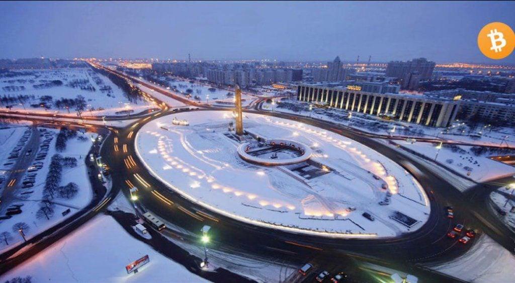 Cea mai mare fermă de minare criptomonede in Leningrad