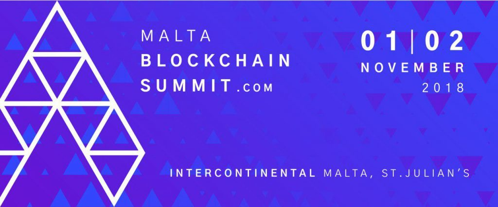 Malta Blockchain Summit - 1-2 November 2018