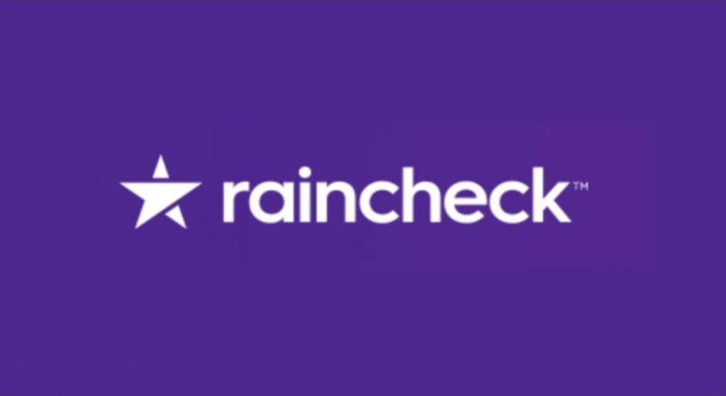 RainCheck – puncte de loialitate