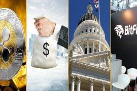 Sinteza cripto 21 septembrie 2018 - Candidații politici din California nu au voie să accepte donații în criptomonede