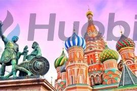 Huobi - extindere in Rusia
