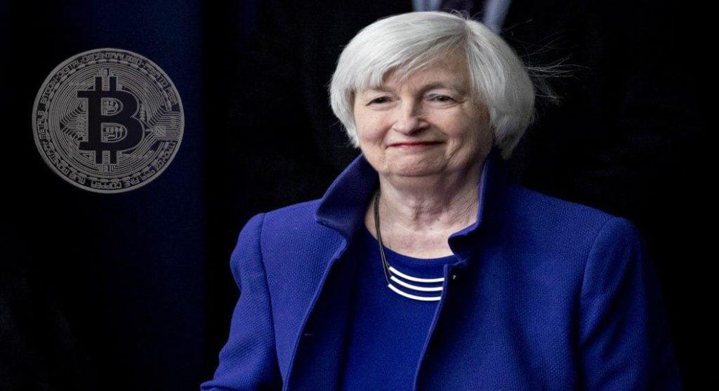 Janet Yellen bitcoin cadou