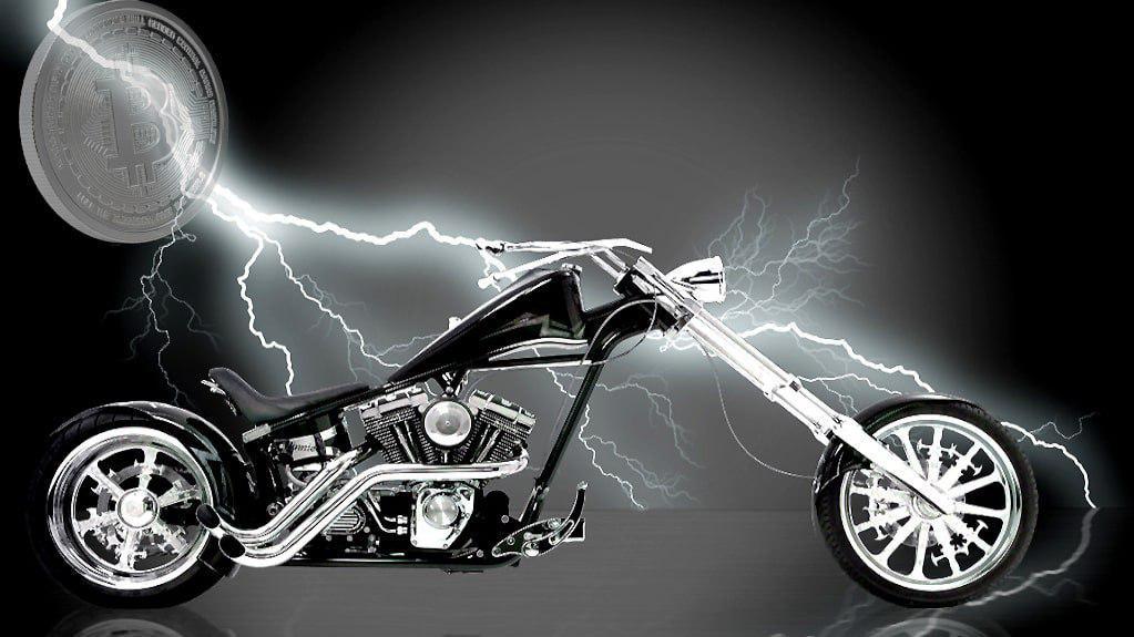 Bicicletă electrică - microplăți Lightning