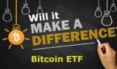 un Bitcoin ETF
