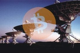 Bitcoin prin unde radio