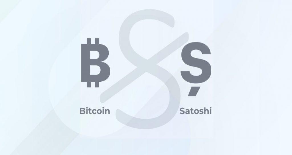 simbol pentru Satoshi