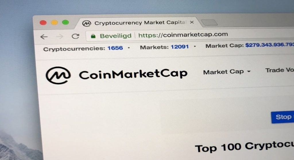 Interest by CoinMarketCap