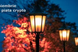 Luna noiembrie pe piata crypto
