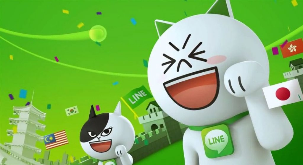 Rețeaua socială Line