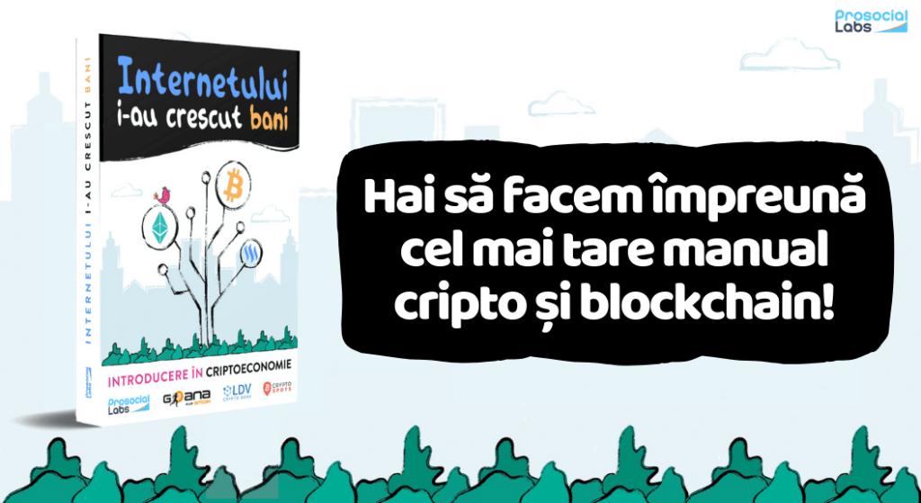 Educatie cripto si blockchain relaxata cu primul Ebook cripto romanesc