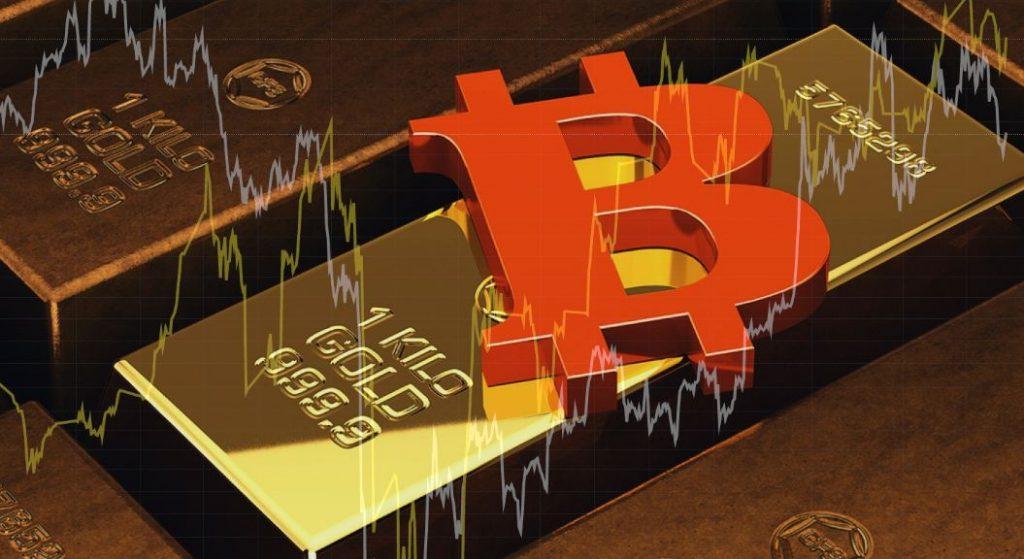 Corelatie intre Bitcoin si Aur