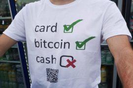 Plata în Bitcoin la concert