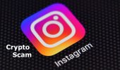 escrocherie cripto pe Instagram