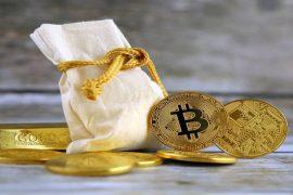 Evoluția Bitcoin corelată cu cea a aurului
