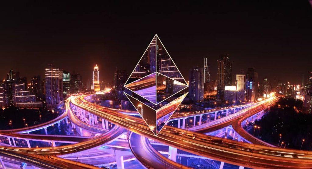 Volumul tranzacțiilor zilnic în rețeaua Ethereum