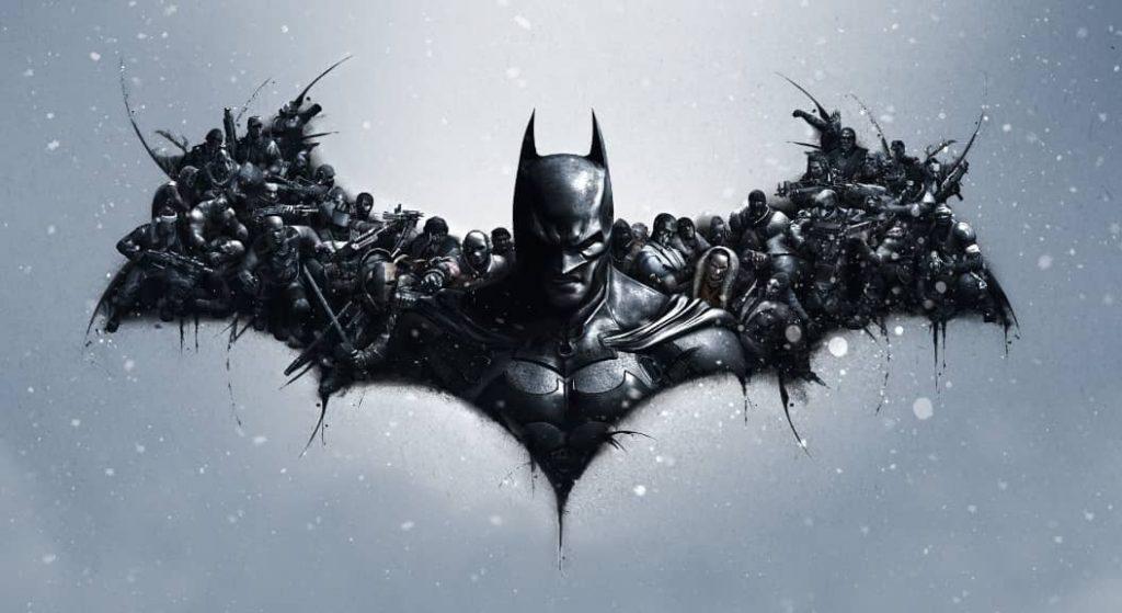 colecție de artă cu Batman