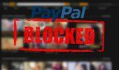 Cont PayPal blocat