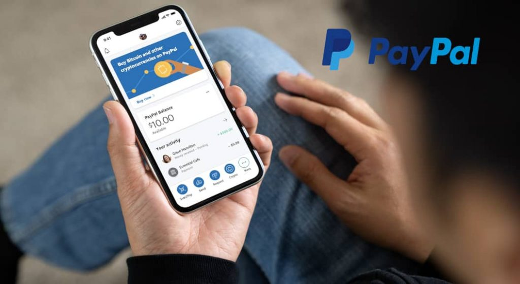 Tranzacții cripto prin Paypal