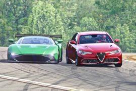 Aston Martin și Alfa Romeo